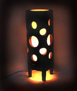 木製ランプ