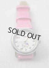 キャメロット製 腕時計 レディース ピンク