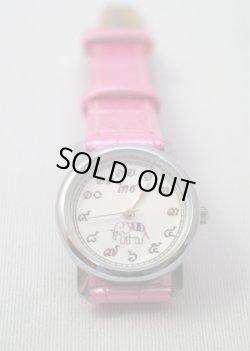 画像1: キャメロット製 腕時計 レディース ピンク