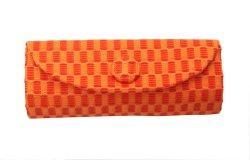 画像1: ジムトンプソン タイシルク リップケース オレンジ