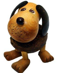 画像1: 犬型 貯金箱