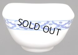 画像1: ブルー/ホワイト 小鉢