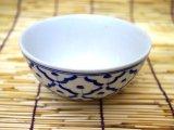 ブルー/ホワイト お碗2
